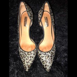 Women's Calf Hair Heels